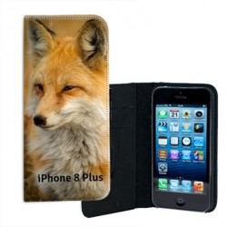 Etui portefeuille personnalisable Iphone 8 PLUS