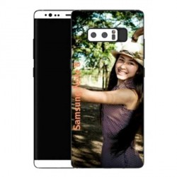 Coques souples PERSONNALISEES en Gel silicone pour Samsung Galaxy Note 8