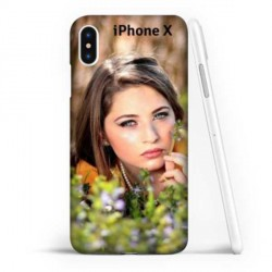 Coque souple personnalisable Iphone X (ten)