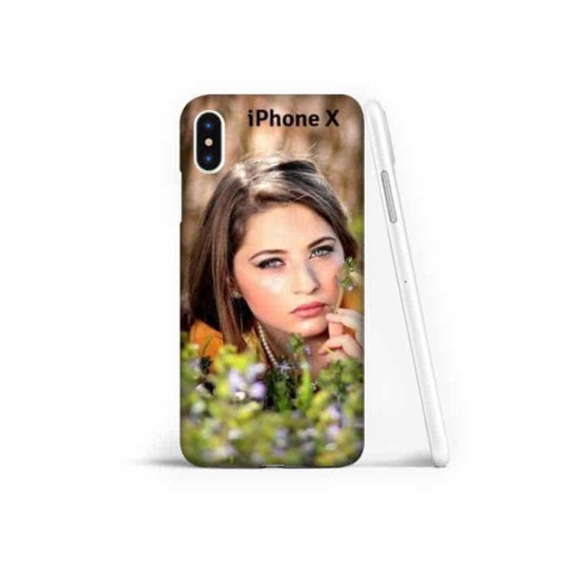 Coque souple personnalisable Iphone X (ten)