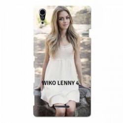 Coques souples PERSONNALISEES en Gel silicone pour Wiko Lenny 4