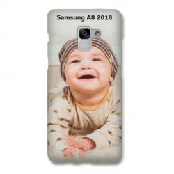 Coques souples PERSONNALISEES en Gel silicone pour Samsung Galaxy A8 2018