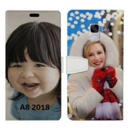 Etui RECTO VERSO personnalisable Samsung Galaxy A8 2018