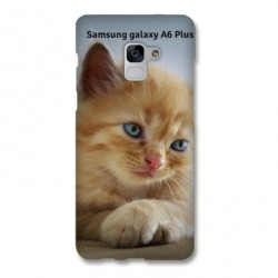 Coque souple PERSONNALISEE en Gel silicone pour Samsung galaxy A6 PLUS