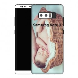 Coque souple PERSONNALISEE en Gel silicone pour Samsung Galaxy Note 9