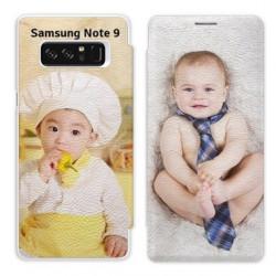 Etui à rabat personnalisé RECTO VERSO Samsung Galaxy Note 9