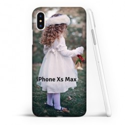 Coque souple PERSONNALISEE en Gel silicone pour iPhone Xs Max