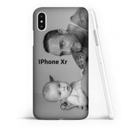 Coque souple PERSONNALISEE en Gel silicone pour iPhone Xr