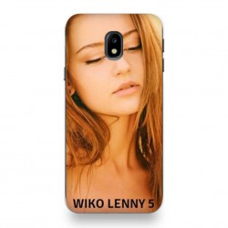 Coque souple PERSONNALISEE en Gel silicone pour  Wiko Lenny 5