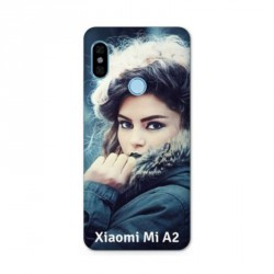 Coque souple PERSONNALISEE en Gel silicone pour Xiaomi Mi A2