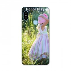 Coque souple PERSONNALISEE en Gel silicone pour Huawei Honor Play
