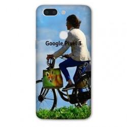 Coque souple PERSONNALISEE en Gel silicone pour Google Pixel 3