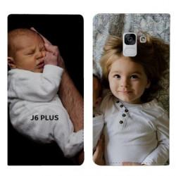 Etui personnalisable RECTO VERSO pour Samsung Galaxy J6 PLUS