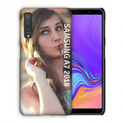 Coque souple PERSONNALISEE en Gel silicone pour Samsung Galaxy A7 2018