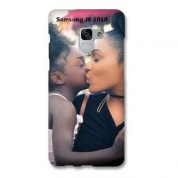 Coque souple PERSONNALISEE en Gel silicone pour Samsung Galaxy J8 2018