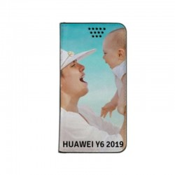 Etui personnalisable recto verso pour huawei Y6 2019