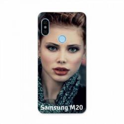 Coque personnalisable rigide Samsung Galaxy M20