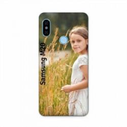 Coque personnalisable souple en gel Samsung Galaxy M20