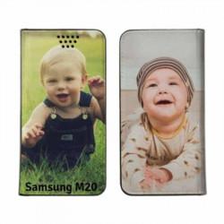 Etui personnalisable recto verso pour Samsung Galaxy M20