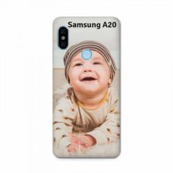 Coque personnalisable souple en gel Samsung Galaxy A20