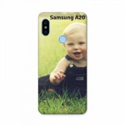 Coque personnalisable rigide Samsung Galaxy A20