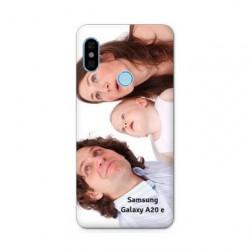 Coque personnalisable souple en gel Samsung Galaxy A20 e
