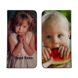 Etui personnalisable recto verso pour Oppo Reno