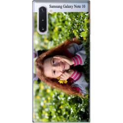 Coque personnalisable souple en gel Samsung Galaxy Note 10