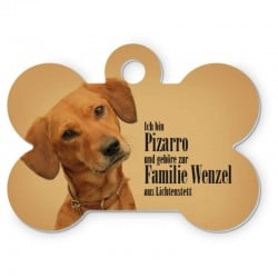 Médaille de chien personnalisée