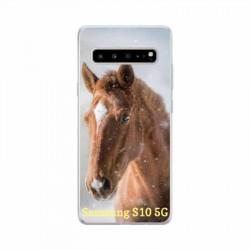Coque personnalisable souple en gel Samsung Galaxy S10 5g