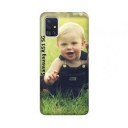 Coque personnalisable souple en gel Samsung Galaxy A51 5g
