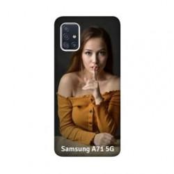 Coque personnalisable souple en gel Samsung Galaxy A71 5g