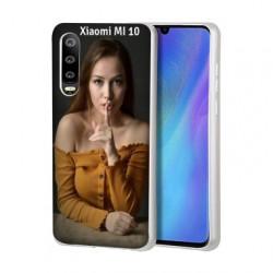 Coque personnalisable souple en gel Xiaomi Mi 10