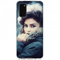Coque personnalisable souple en gel Samsung Galaxy S20
