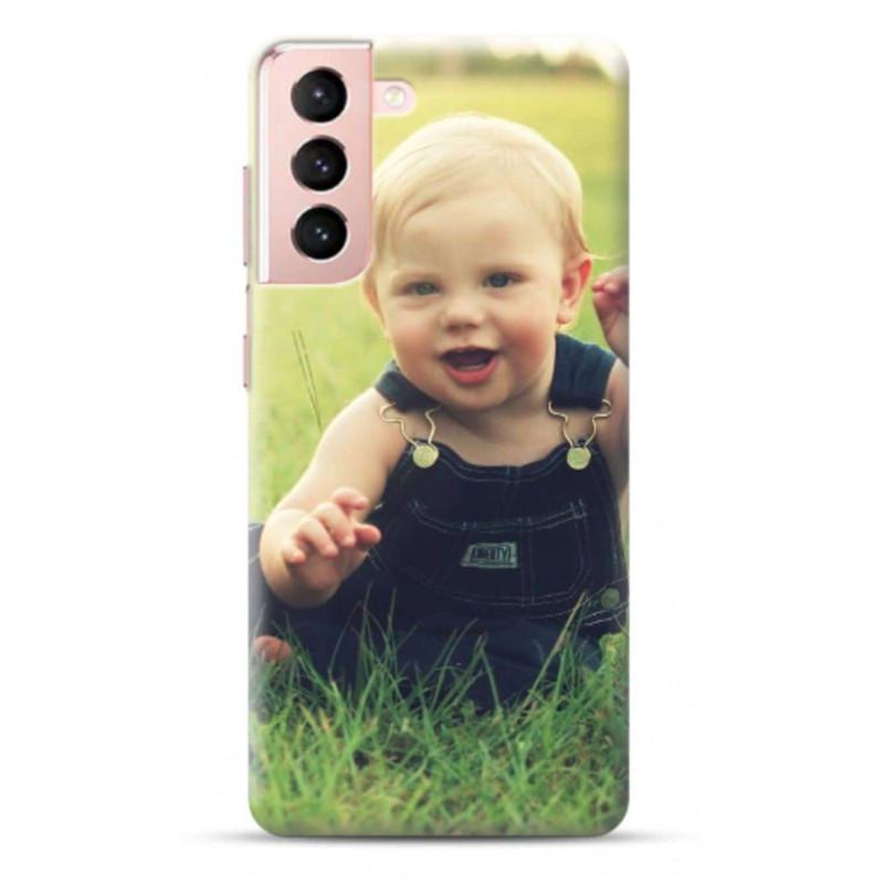 Coque personnalisable souple en gel Samsung Galaxy S21