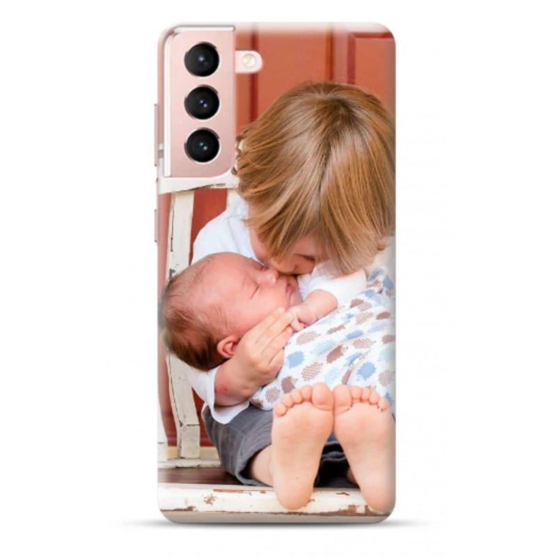 Coque personnalisable souple en gel Samsung Galaxy S21 plus