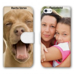 Etui RECTO VERSO personnalisable IPHONE 5C