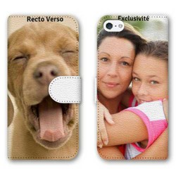 Etui RECTO VERSO personnalisable IPHONE SE