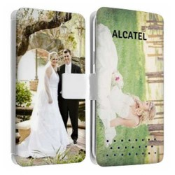 Etui personnalisable recto verso ALCATEL PIXI 3