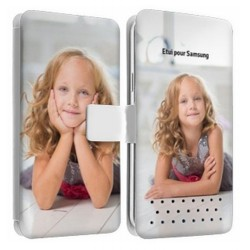 Etui personnalisable recto verso SAMSUNG GALAXY WAVE 2
