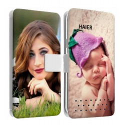 Etui personnalisable recto verso Haier Phone W816