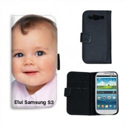 Etui personnalisable SAMSUNG GALAXY S3