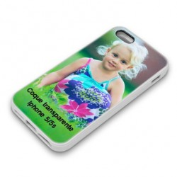 Coque transparente personnalisable Iphone 5