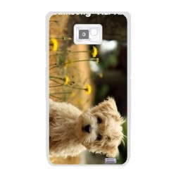 Coque transparente personnalisable SAMSUNG GALAXY ALPHA