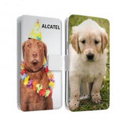 Etui personnalisable recto verso pour Alcatel Pixi 4