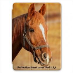 Protection smart cover personnalisée pour iPad 2,3,4