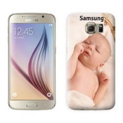 Coques souples PERSONNALISEES en Gel silicone pour Samsung galaxy S6