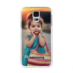 Coques souples PERSONNALISEES en Gel silicone pour Samsung galaxy S5 mini