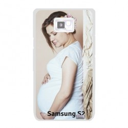 Coques souples PERSONNALISEES en Gel silicone pour Samsung galaxy S2