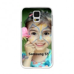 Coques souples PERSONNALISEES en Gel silicone pour Samsung galaxy S5